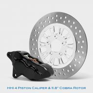 4 Piston Caliper & Rotor kit