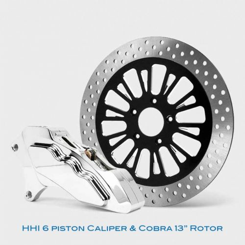 Floating Rotor and 6 Piston Caliper kit