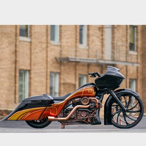 Roadglide Bagger Drag Bars